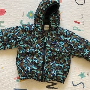 Patagonia Reversible Down Sweater Hoodie - Toddler